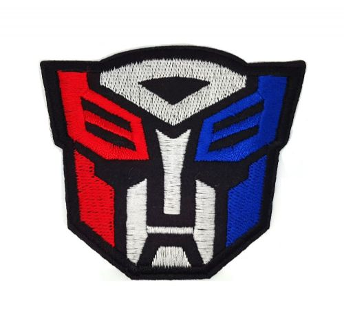 Transformers Autobot Iron / Sew On Embroidered Patch